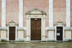 Basilica Misericordia Fabriano royalty free stock image