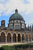 Basilica on Mount Beatitudes Royalty Free Stock Image
