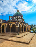 Basilica of Mount Beatitudes Royalty Free Stock Photography