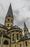 BONN, BASILICA MUENSTER Royalty Free Stock Photo