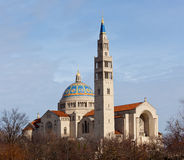Basilica of the National Shrine Royalty Free Stock Images