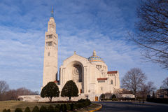 Basilica of the National Shrine Stock Photos