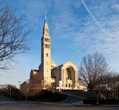 Basilica of the National Shrine Royalty Free Stock Photos