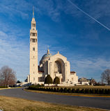 Basilica of the National Shrine Stock Photo