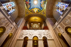 Basilica of the National Shrine Catholic Church Royalty Free Stock Image
