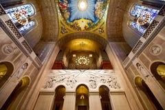Basilica of the National Shrine Catholic Church Royalty Free Stock Image