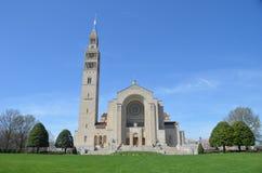 Basilica of the National Shrine Catholic Church, Washington DC. USA Stock Image