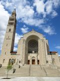 Basilica of the National Shrine of the Immaculate Conception Exterior Royalty Free Stock Photo
