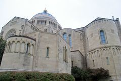 Basilica of the National Shrine of the Immaculate Conception Royalty Free Stock Photos