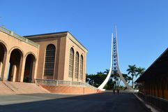 Basilica of the National shrine of our lady of Aparecida. In Brazil Royalty Free Stock Photos