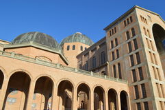 Basilica of the National shrine of our lady of Aparecida. In Brazil Stock Photo