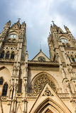Basilica of the National Vow in Quito Ecuador stock images