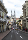 Basilica of the National Vow in Quito Stock Image
