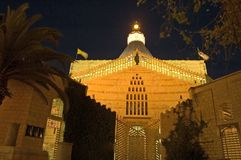 basilica nazareth royaltyfria bilder
