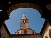 Basilica nel porec Immagine Stock Libera da Diritti