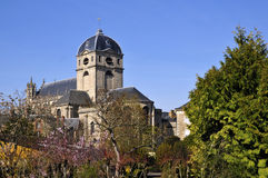 Basilica Notre Dame at Alençon in France Stock Photos