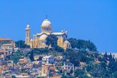 Basilica Notre dame d'Afrique Royalty Free Stock Images