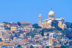 Basilica Notre dame d'Afrique Royalty Free Stock Photo