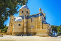Basilica Notre dame d'Afrique Stock Photography