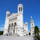 Basilica of Notre Dame de Fourviere Royalty Free Stock Image