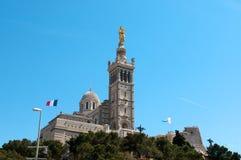 Basilica Notre-Dame de la Garde Stock Photos