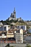 The Basilica of Notre Dame de la Garde Royalty Free Stock Photos