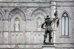 Basilica Notre Dame detail Stock Image