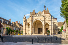 Basilica Notre Dame di Beaune Fotografie Stock