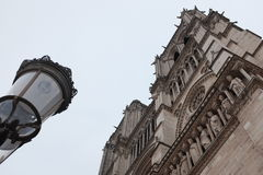 Basilica Notre Dame, Paris Stock Photography