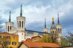 Free Basilica Of Notre-Dame De Fourviere, Lyon, France Stock Photography - 161697072