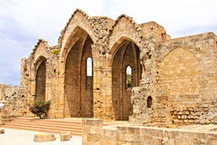 Basilica Of Rhodes Stock Images