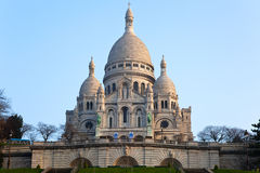 Basilica Of Sacre-Coeur In Montmartre, Paris. Royalty Free Stock Image