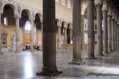 Basilica Of Saint Sabina In Rome, Italy Royalty Free Stock Images