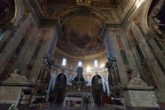 Basilica Of Santissima Annunziata In Florence Stock Photography