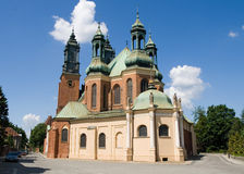 Basilica Of St. Peter And St. Paul In Poznan Stock Photography