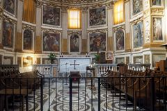 Free Basilica Of The Four Holy Crowned Ones In Rome, Italy Stock Photos - 168689203