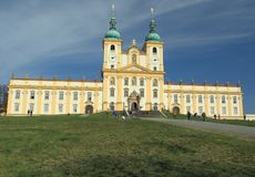 Basilica in Olomouc Royalty Free Stock Images