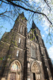 Basilica On Vysehrad In Prague, Czech Republic Royalty Free Stock Images