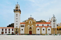 Basilica of Our Lady of Candelaria in Tenerife Royalty Free Stock Photography