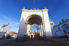 Basilica of Our Lady of Copabana, Bolivia Royalty Free Stock Photos