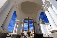 Basilica Our Lady of Copacabana, Bolivia royalty free stock photography