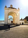 Basilica of Our Lady in Copacabana Stock Photography