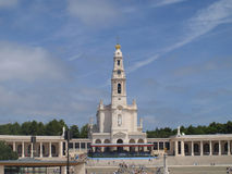 Basilica of Our Lady of Fatima in Portugal Royalty Free Stock Images