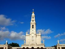 Basilica of Our Lady Fatima Stock Photography