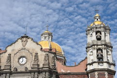 The Basilica of Our Lady Guadalupe, Mexico City royalty free stock photography