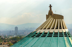 Basilica of Our Lady of Guadalupe Stock Photo