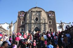 Basilica of Our Lady of Guadalupe, Mexico City Stock Photo