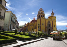 Basilica of our Lady in Guanajuato, Gto Stock Photo