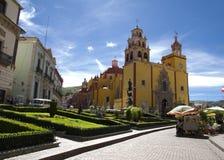 Basilica of our Lady in Guanajuato, Gto stock photo