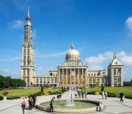 Basilica of Our Lady of Licheń in Poland Stock Photography